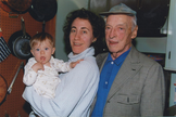 A photo of Saul Bellow, courtesy of the Bellow Family Collection.