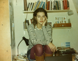 An image of Louise Erdrich by Louise Erdrich.