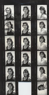 An image of Louise Erdrich by Horace Shiigaag.