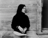 An image of Louise Erdrich by Peter Tagiuri.