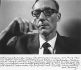 A photo of William S. Burroughs, courtesy of Allen Ginsberg LLC.