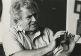 A photo of Norman Mailer, courtesy of the Norman Mailer Papers, Harry Ransom Humanities Research Center, University of Texas at Austin.
