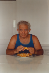 A photo of Norman Mailer, courtesy of Norris Mailer.